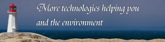 Click here for more technologies to help you and the environment